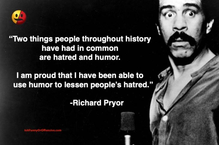 Richard Pryor on Hatred and Humor
