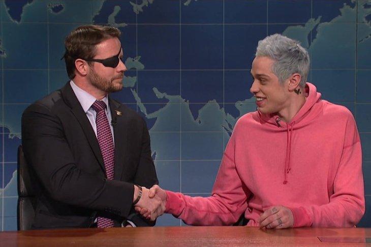 Pete Davidson Brings Veteran Dan Crenshaw To SNL For A Late-Night Apology