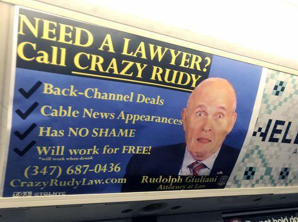 NYC Subway Ad Giuliani