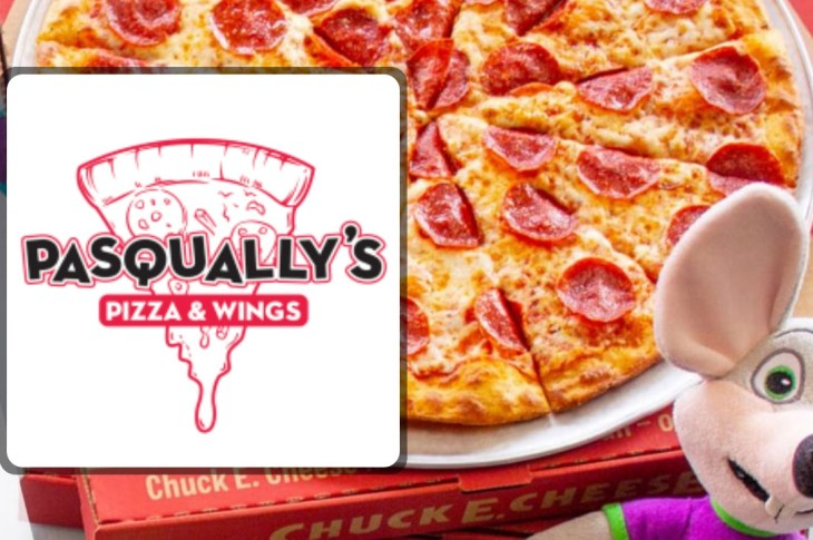 Chuck E. Cheese Changed Its Name to Pasqually's Pizza on Grubhub