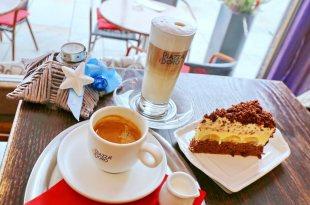 ♬捷克260年咖啡廳,金象咖啡,卡羅維瓦利溫泉小鎮,布拉格、捷克自由行