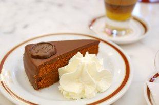 【奧地利自由行-維也納必吃】沒吃過不算到過「Sacher-Torte」薩赫蛋糕、沙河蛋糕,絕配咖啡哪一款?