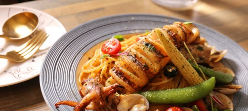 【台北-創意料理-食尚玩家推薦菜單】黑邦廚房,三重米其林,美翻義大利麵