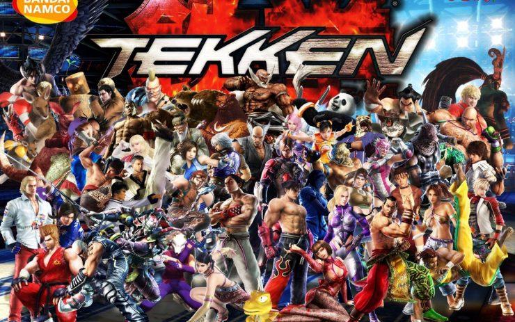 Los luchadores de la historia de Tekken 7