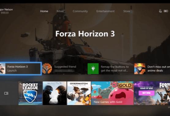 La nueva interfaz de Xbox One se deja ver en un vídeo