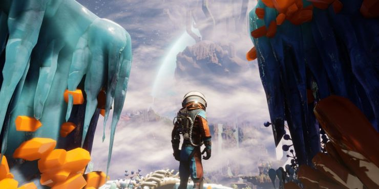 explorando en journey to the savage planet