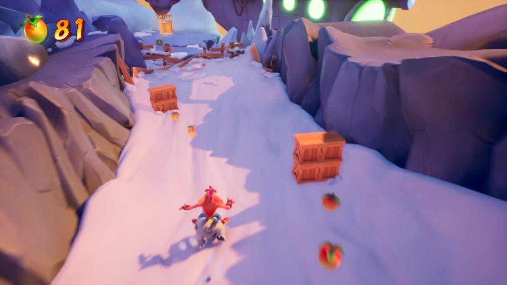 ¡¡Vuelve Crash a lomos de Polar!!