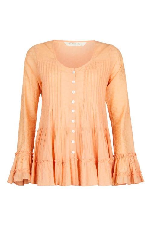 Boho Blouse Calm - Orange