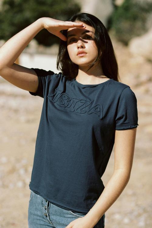 Short Sleeve T-Shirt Eivissa - Blue
