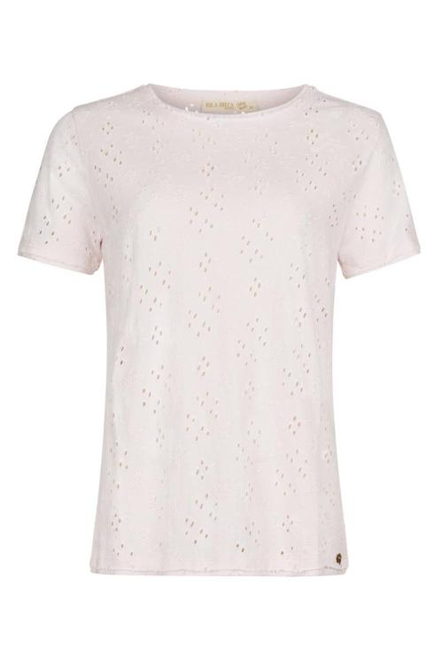 Embroidery T'Shirt Romantic – Pink