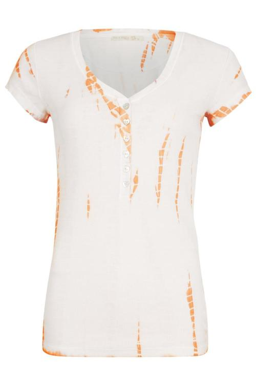 Short Sleeve Tie Dye T-Shirt Jondal – Orange