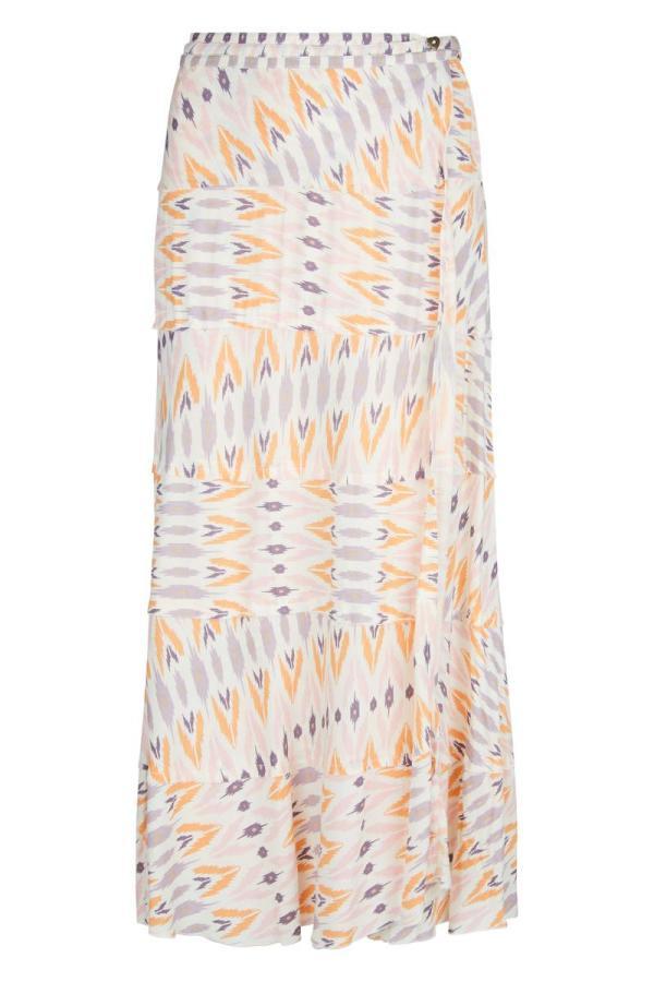 Long Skirt Aztec - Cream