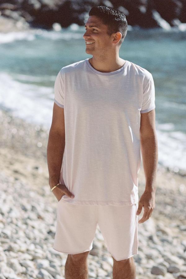 Basic Short Sleeve T'Shirt Mateu - Pink