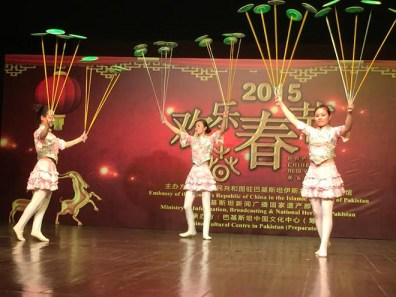 A gripping performance by Chinese artists in Islamabad.