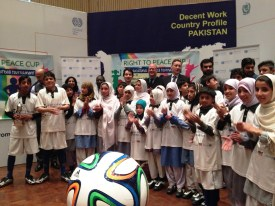 A four-day sporting and educational event in Islamabad offered street children a brilliant opportunity.