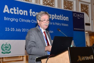 Dr David Molden, Director General of ICIMOD