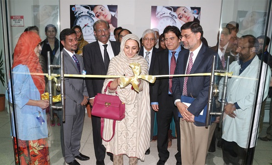 Ms. Saira Afzal Tarar, Minister of State for National Health Services Regulations and Coordination, formally inaugurates Islamabad's first sleep disorder center