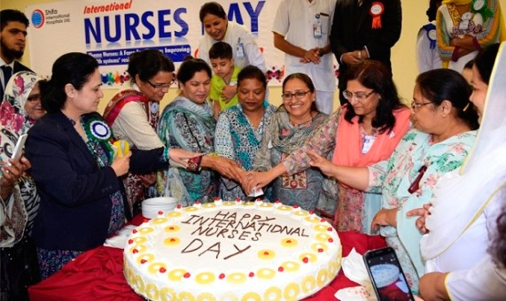 Islamabad nurses celebrate International Nurses Day 2016 at Shifa Hospital Islamabad