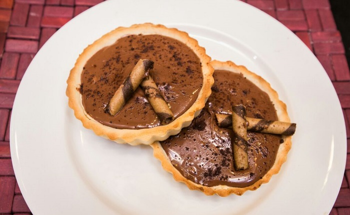 Nutella Passion Tart is one of the most favorite bakery desserts at Guilty Pleasures