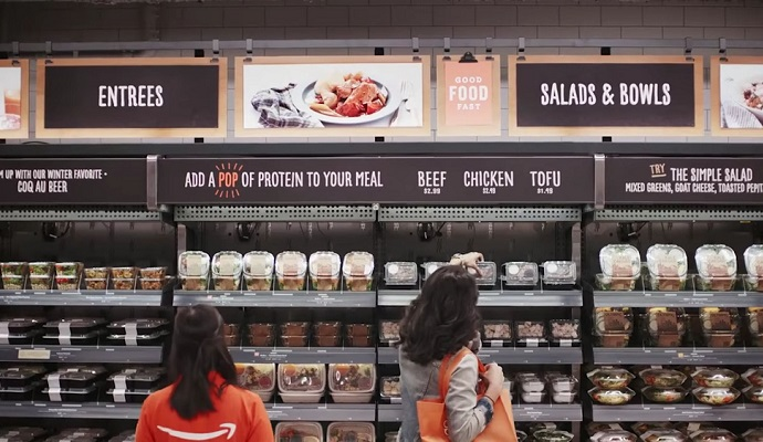"Amazon launched ""Amazon Go"" grocery store without Cashier"