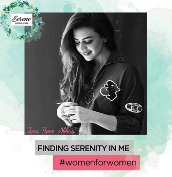 Pakistani TV actress, Zara Noor Abbas is the brand ambassador of Serene Organics