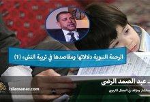 Photo of الرحمة النبوية دلالاتها ومقاصدها في تربية النشء