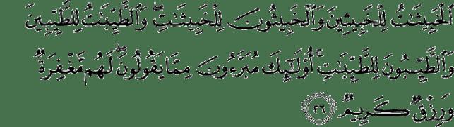 Al-Qur'an Surat Annur