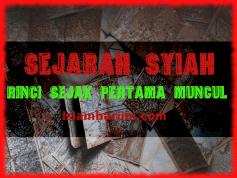 sejarah syiah sejak pertama muncul islamhariini.com