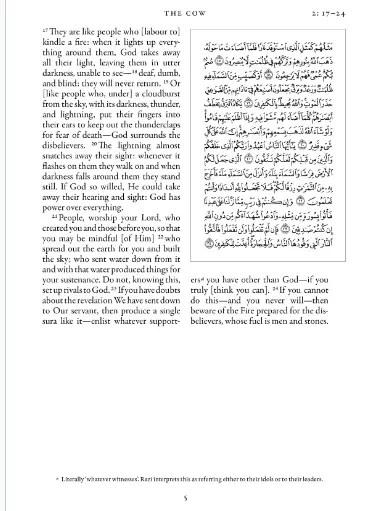 quran with English translation