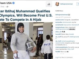 first US hijabi in olympics