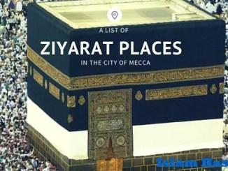 ziyarat-Pilgrimage to mecca