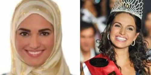 Beauty Queen of Czech Democratic Republic Marketa Korinkova embraces Islam