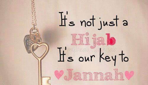 Examples of hijab in a sentence. Where does the Quran says woman has to cover themselves ...