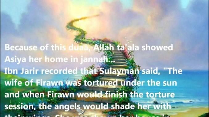 asiyah the wife of firaun