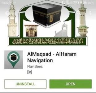 A Free Grand Mosque Navigation App for Pilgrims