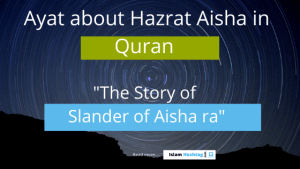 incident of ifk-slander of Aisha