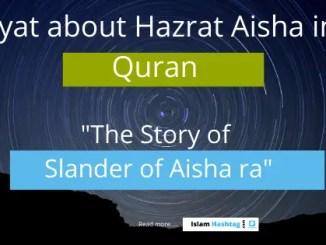 incident of ifk-slander of Aisha