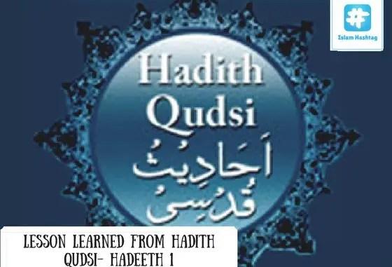 Hadeeth Qudsi-1