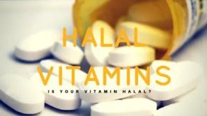 halal vitamins