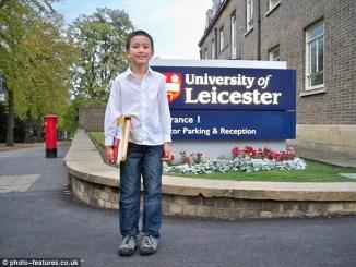 Yasha Asley , the Muslim genius boy makes a record