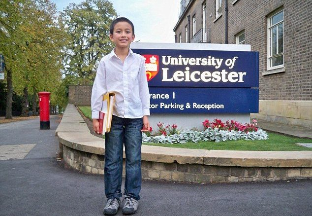 Yasha Asley , the Muslim genius boy makes a record