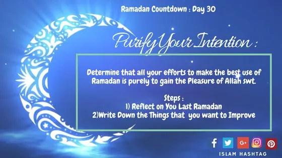 Ramadan countdown 2017 day 30