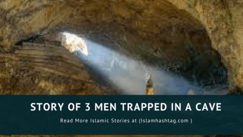 3 men trapped in a cave