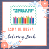asma ul husna coloring book
