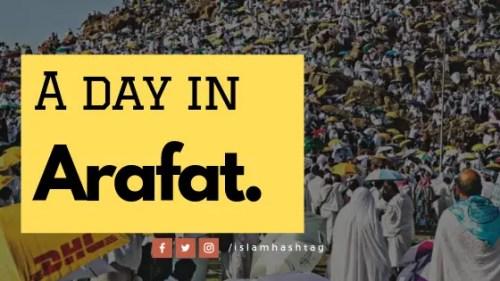 A day in Arafat