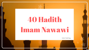 40 Hadith Imama Nawawi