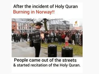 After the Quran burning incident-Norway