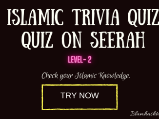 quiz on seerah