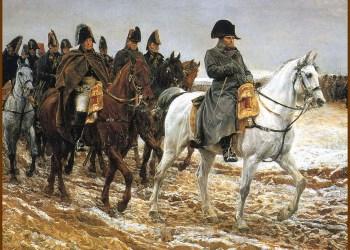 Napoleon et generaux, 1812