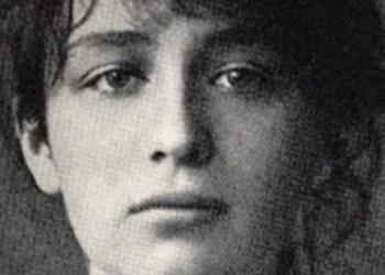 Retrato de Camille Claudel, 1884.